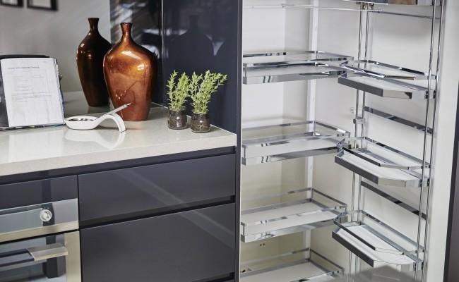 Kitchen storage Hafele