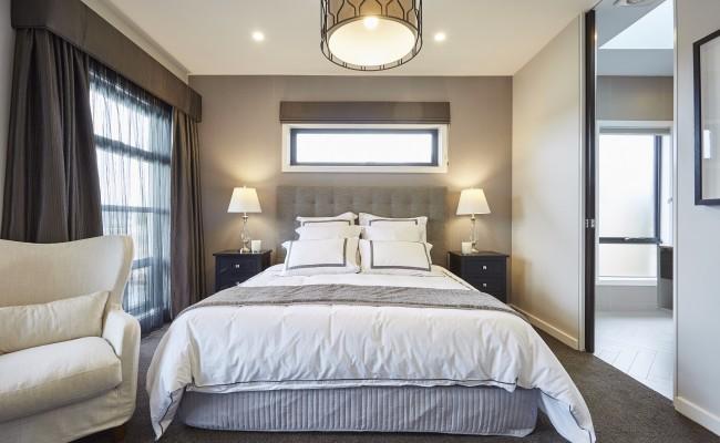 Master bedroom, window