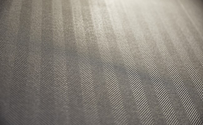 Wallpaper herringbone living