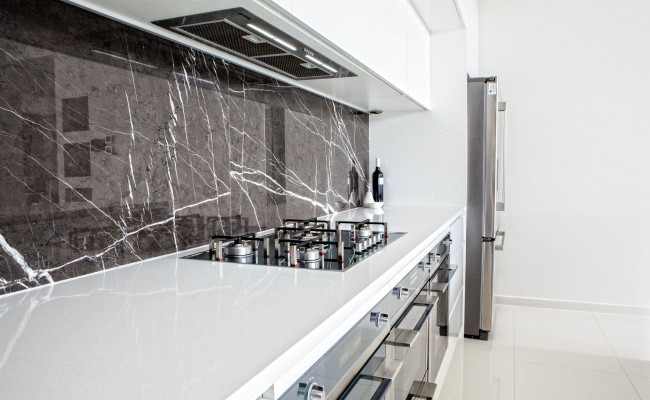 Kitchen pietra grey stone