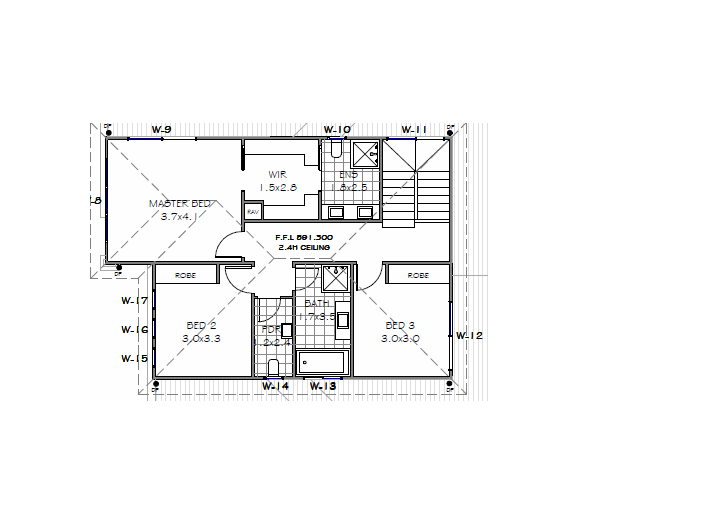 Eve First floor plan
